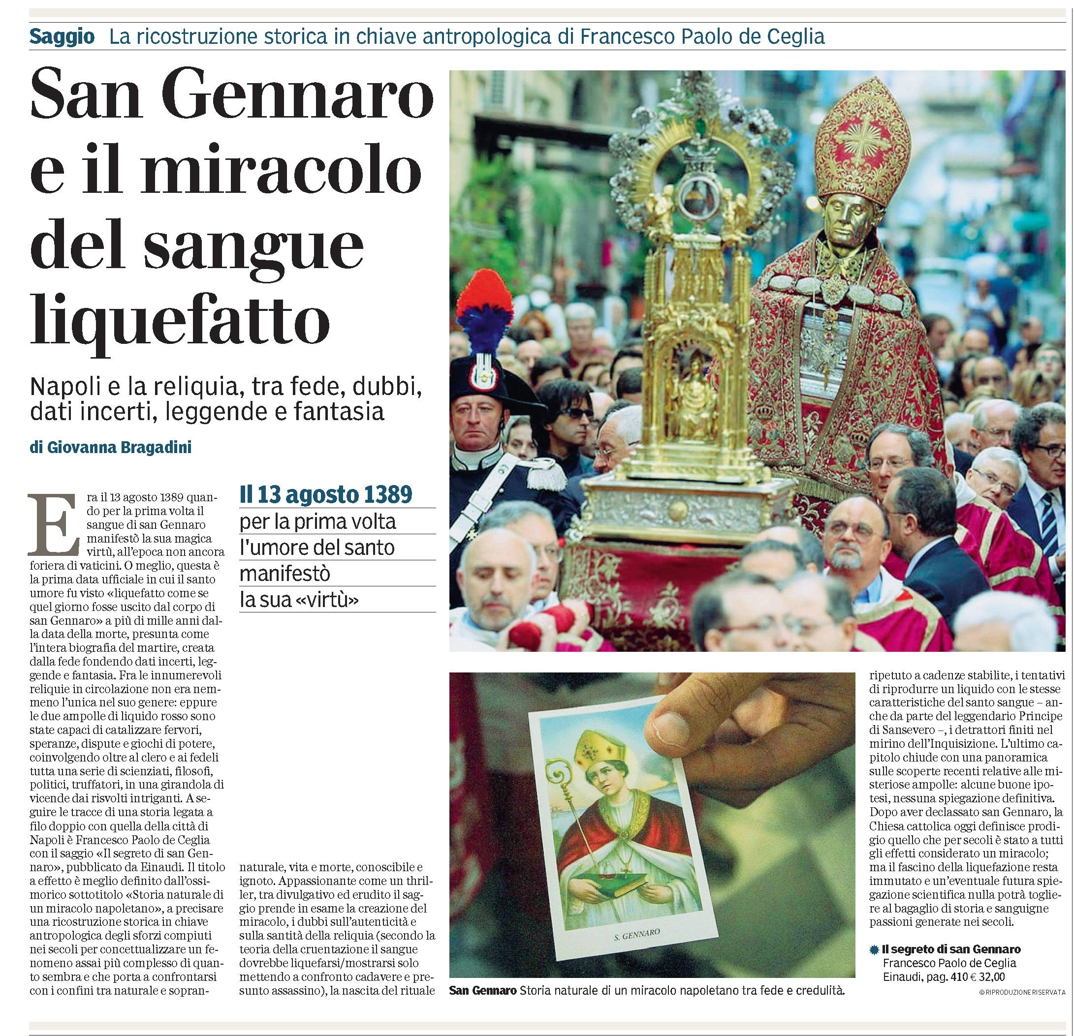 recensione San Gennaro